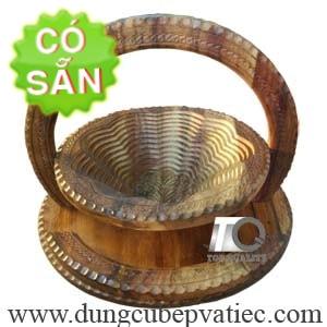 Khay xếp đựng trái cây bánh kẹo bằng gỗ Sheesham KG1-30-DT
