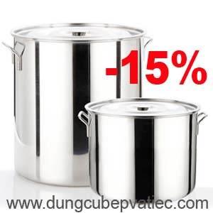 Nồi inox 50 - 70 - 98 lít giảm giá đặc biệt