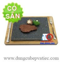 Đá tấm Hàn Quốc nướng thịt tại bàn