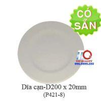 Dĩa melamine cạn D200 - P421-8