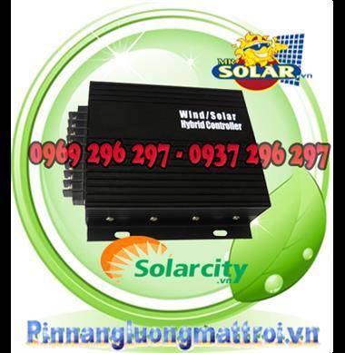 Bộ Điều Khiển Sạc Tua Pin Gió/Năng Lượng Mặt Trời/Chiếu Sáng Đèn Đường Kết Hợp 40a Solarcity