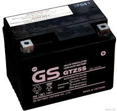 Ăc quy dùng cho xe máy Wave RS, RSX, Air Blade, Jupiter 12v-3.5Ah GS GTZ5S