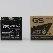 Ắc quy GS cho xe máy Honda Dream, click, jupiter 12V- 5Ah (GT5A)