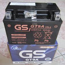 Ắc quy GS cho xe máy Honda Spacy 12V- 9Ah (GT9A)