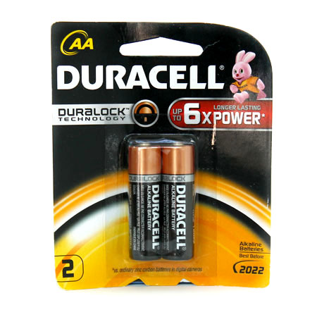 PIN DURACELL MN1500- LR6 AA2