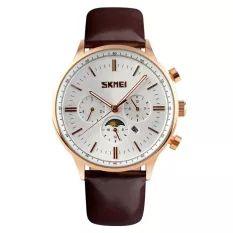 Đồng hồ Skmei SK086 Nâu ( 6 kim)