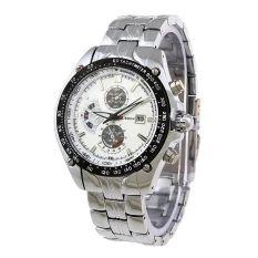 Đồng hồ nam dây thép không gỉ Skmei AD0993 (Trắng)