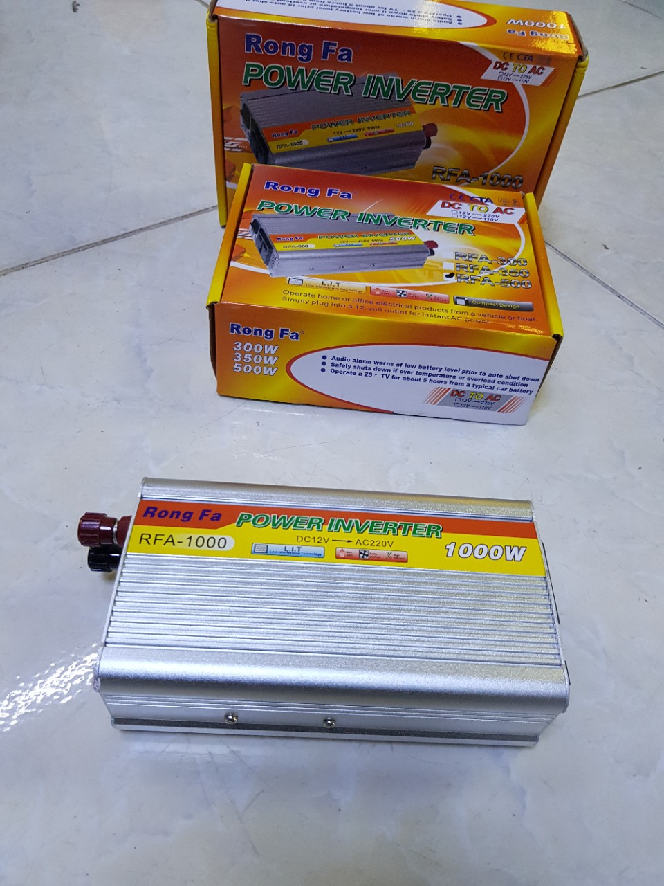 Inverter 1000W - Kích điện Power - IN1000-P