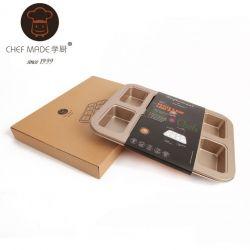 Chefmade - Khuôn 8 lỗ chữ nhật