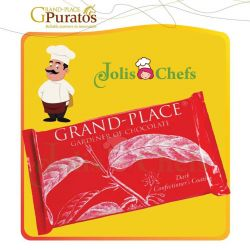 Chocolate Grand Place Puratos tấm đen 20% 1kg d045
