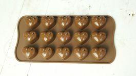 Khuôn Chocolate Trái Tim