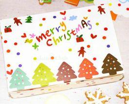 Hộp Bánh Chữ Nhật Merry Christmas