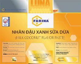 Nhân Trung Thu Farina Đậu Xanh Sữa Dừa 500gr