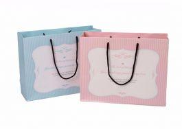 Túi Giấy Kẻ Xanh 1003b-1