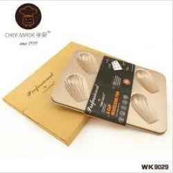 Chefmade - Khuôn 6 lỗ madeleine