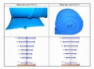 Băng cản nước PVC xử lý mạch ngừng bê tông - GPS Waterstop