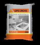 Hợp chất chống thấm mao dẫn bê tông và vữa - GPS Cro 15