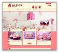 Thiết kế website nhà hàng ẩm thực chuyên nghiệp giá rẻ