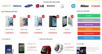 Thiết kế website bán điện thoại di động chuyên nghiệp chuẩn seo