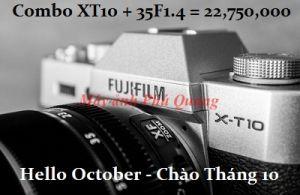 Mua Combo Fujifilm + Lens với giá TỐT NHẤT - vượt Bão Giá Tháng 10