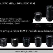 Mua ống kính Fujifilm giá tốt nhất trong năm