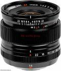 Lens Fujifilm XF 14mm F2.8