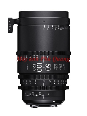 Sigma 50-100mm T2 Cine Lenses