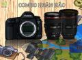 Canon EOS 5D Mark III body + 24-70mm F2.8 iS II