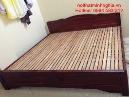 Giường gỗ tự nhiên 160x200