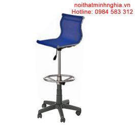 B05-CXN ghế quầy bar nội thất 190 bộ quốc phòng chân xoay nhựa