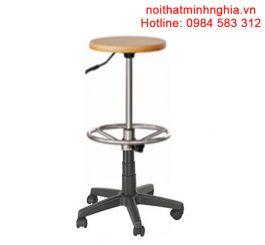 B08-CXN ghế quầy bar nội thất 190 bộ quốc phòng chân xoay nhựa