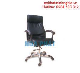 Ghế da cao cấp lưng trung Hòa Phát SG901A, Bọc PVC