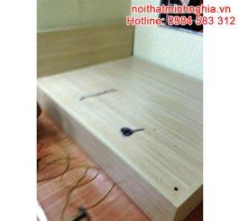 Giường 160 gỗ công nghiệp