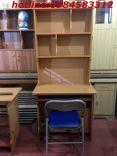 bàn học sinh kèm giá sách 80 vàng +ghế G01S