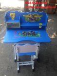 bộ bàn ghế trẻ em màu xanh dương mẫu 01