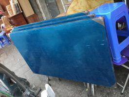 bàn ăn inox toàn bộ 115x70x75