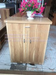tủ giày 70cm vân 61 gỗ công nghiệp