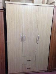 tủ áo gỗ công nghiệp 120cm 3 cánh 2 ngăn kéo