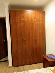 tủ áo gỗ công nghiệp 160x240 chia 2 tầng cánh