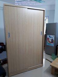 tủ áo cánh lùa 120x200 màu lim