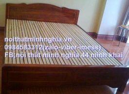 giường gỗ xoan ta 160x200