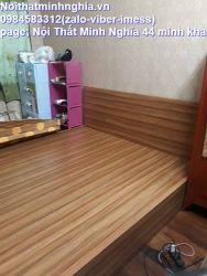 giường gỗ công nghiệp 60x200 không ngăn kéo