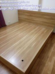 giường gỗ công nghiệp 180x200 không ngăn kéo