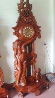 Đồng hồ cây cô tiên gỗ hương vân