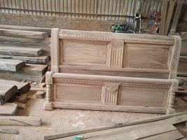 Giường ngủ gỗ hương 1m8,2m