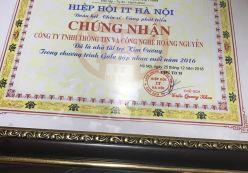 Hoàng Nguyễn tham dự gala cuối năm IT Hà Nội 2016
