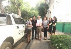Hoàng Nguyễn cùng Vantech tới thăm Vantech Thái Nguyên