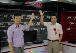 Hoàng Nguyễn dự khai trương Hà Nội Computer