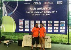 Hoàng Nguyễn tham dự giải quần vợt Dahua-WD mở rộng 2017