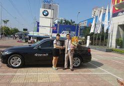 Hoàng Nguyễn nhận thưởng quà tặng xe BMW từ Vantech
